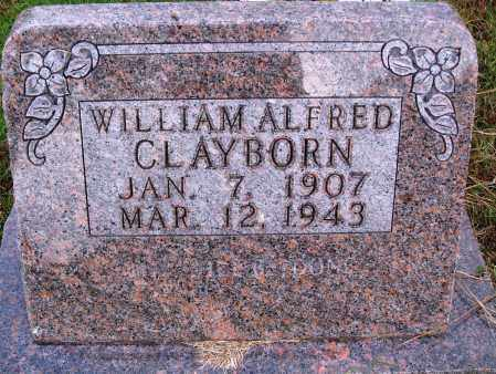CLAYBORN, WILLIAM ALFRED - Newton County, Arkansas | WILLIAM ALFRED CLAYBORN - Arkansas Gravestone Photos