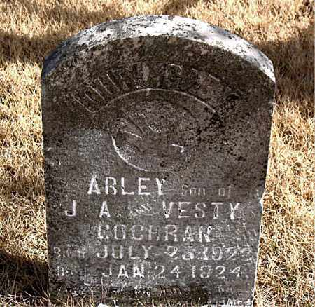 COCHRAN, ARLEY - Newton County, Arkansas | ARLEY COCHRAN - Arkansas Gravestone Photos
