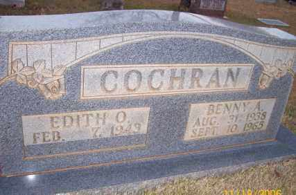 COCHRAN, BENNY A. - Newton County, Arkansas | BENNY A. COCHRAN - Arkansas Gravestone Photos