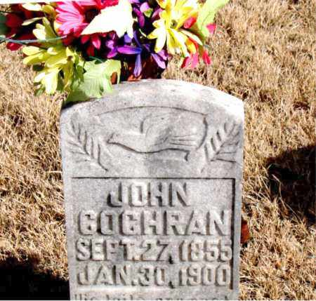 COCHRAN, JOHN - Newton County, Arkansas | JOHN COCHRAN - Arkansas Gravestone Photos
