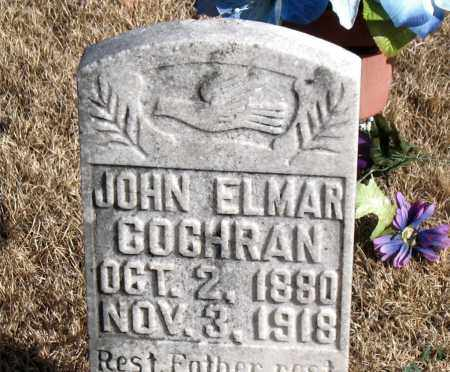 COCHRAN, JOHN ELMAR - Newton County, Arkansas | JOHN ELMAR COCHRAN - Arkansas Gravestone Photos