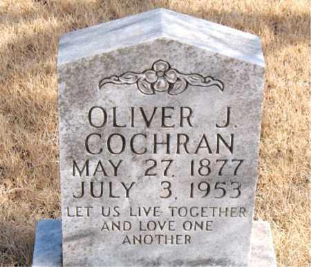 COCHRAN, OLIVER J. - Newton County, Arkansas | OLIVER J. COCHRAN - Arkansas Gravestone Photos