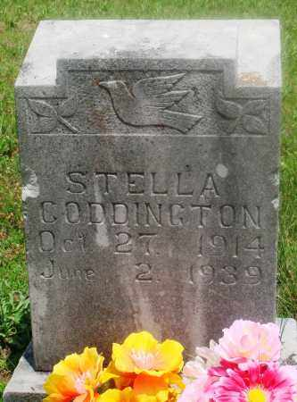 CODDINGTON, STELLA - Newton County, Arkansas | STELLA CODDINGTON - Arkansas Gravestone Photos