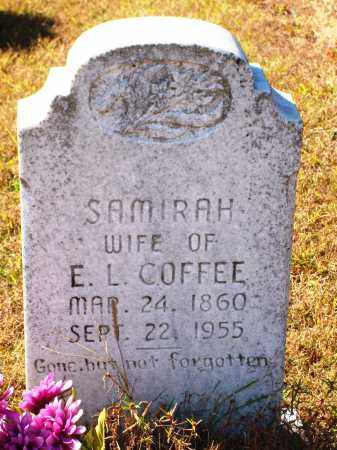 THOMAS COFFEE, SAMIRAH - Newton County, Arkansas | SAMIRAH THOMAS COFFEE - Arkansas Gravestone Photos