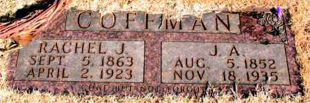 COFFMAN, J. A. - Newton County, Arkansas | J. A. COFFMAN - Arkansas Gravestone Photos