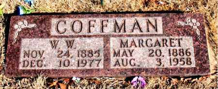 COFFMAN, W. W. - Newton County, Arkansas | W. W. COFFMAN - Arkansas Gravestone Photos