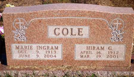COLE, MARIE - Newton County, Arkansas | MARIE COLE - Arkansas Gravestone Photos