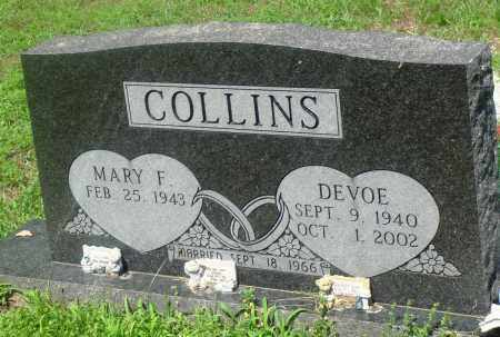COLLINS, DEVOE - Newton County, Arkansas | DEVOE COLLINS - Arkansas Gravestone Photos