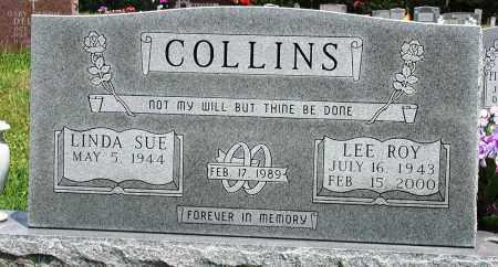 COLLINS, LEE ROY - Newton County, Arkansas | LEE ROY COLLINS - Arkansas Gravestone Photos