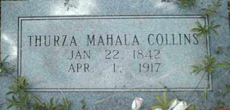 MARTIN COLLINS, THURZA - Newton County, Arkansas | THURZA MARTIN COLLINS - Arkansas Gravestone Photos