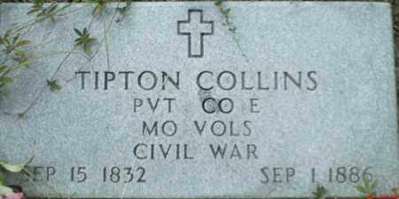 COLLINS (VETERAN UNION), TIPTON - Newton County, Arkansas | TIPTON COLLINS (VETERAN UNION) - Arkansas Gravestone Photos