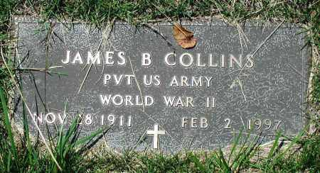 COLLINS (VETERAN WWII), JAMES B - Newton County, Arkansas | JAMES B COLLINS (VETERAN WWII) - Arkansas Gravestone Photos