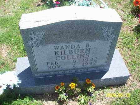 KILBURN COLLINS, WANDA B - Newton County, Arkansas | WANDA B KILBURN COLLINS - Arkansas Gravestone Photos