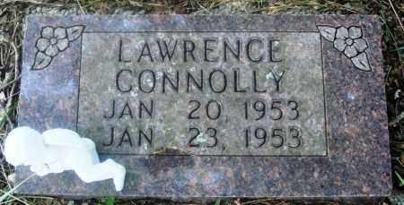 CONNOLLY, LAWRENCE - Newton County, Arkansas | LAWRENCE CONNOLLY - Arkansas Gravestone Photos