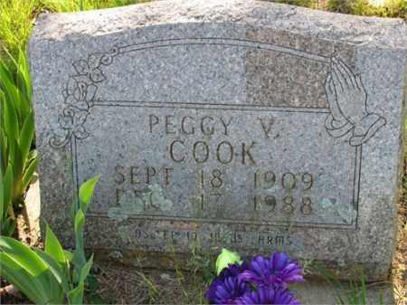 COOK, PEGGY V. - Newton County, Arkansas | PEGGY V. COOK - Arkansas Gravestone Photos