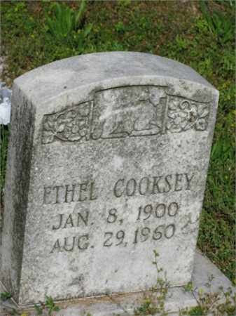 COOKSEY, ETHEL - Newton County, Arkansas | ETHEL COOKSEY - Arkansas Gravestone Photos