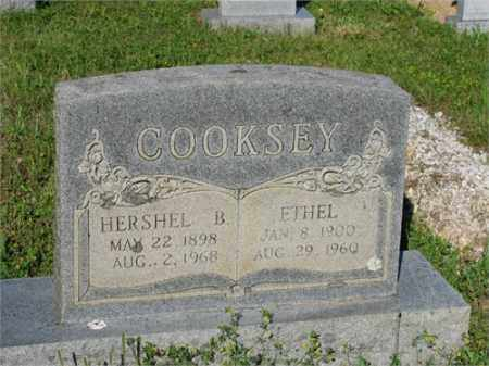 COOKSEY, HERSHEL B. - Newton County, Arkansas | HERSHEL B. COOKSEY - Arkansas Gravestone Photos
