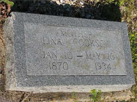 COOKSEY, LINA - Newton County, Arkansas   LINA COOKSEY - Arkansas Gravestone Photos