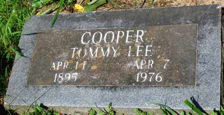 COOPER, TOMMY LEE - Newton County, Arkansas | TOMMY LEE COOPER - Arkansas Gravestone Photos