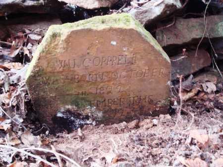 COPPRELL, W. U. - Newton County, Arkansas   W. U. COPPRELL - Arkansas Gravestone Photos