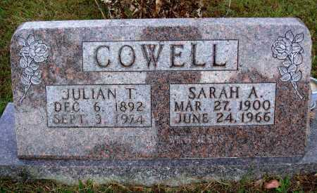 FAUGHT COWELL, SARAH A. - Newton County, Arkansas | SARAH A. FAUGHT COWELL - Arkansas Gravestone Photos