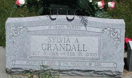 CRANDALL, SYLVIA A - Newton County, Arkansas | SYLVIA A CRANDALL - Arkansas Gravestone Photos