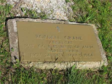 CRANE (VETERAN WWII), ROEDELL - Newton County, Arkansas | ROEDELL CRANE (VETERAN WWII) - Arkansas Gravestone Photos