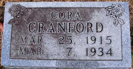 CRANFORD, CORA - Newton County, Arkansas | CORA CRANFORD - Arkansas Gravestone Photos