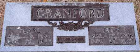 CRANFORD, JOHN - Newton County, Arkansas | JOHN CRANFORD - Arkansas Gravestone Photos