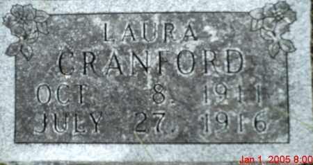 CRANFORD, LAURA - Newton County, Arkansas   LAURA CRANFORD - Arkansas Gravestone Photos