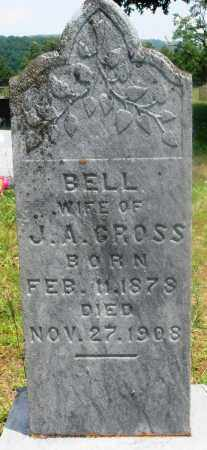 CROSS, BELL - Newton County, Arkansas | BELL CROSS - Arkansas Gravestone Photos