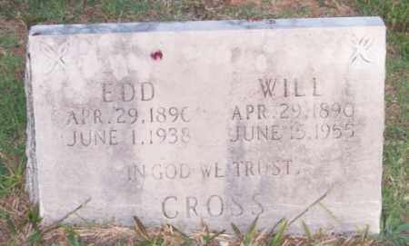 CROSS, EDD - Newton County, Arkansas | EDD CROSS - Arkansas Gravestone Photos