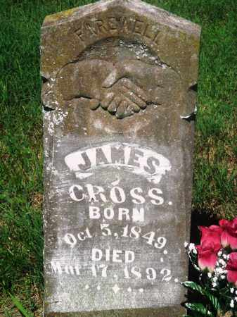 CROSS, JAMES - Newton County, Arkansas | JAMES CROSS - Arkansas Gravestone Photos