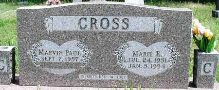 CROSS, MARIE E - Newton County, Arkansas | MARIE E CROSS - Arkansas Gravestone Photos