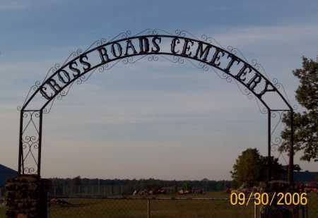 *CROSS ROADS CEMETERY GATE,  - Newton County, Arkansas |  *CROSS ROADS CEMETERY GATE - Arkansas Gravestone Photos