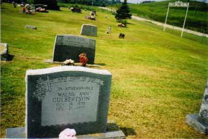 CULBERTSON, WALSIE - Newton County, Arkansas | WALSIE CULBERTSON - Arkansas Gravestone Photos