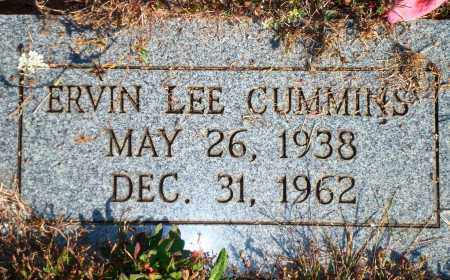 CUMMINS, ERVIN LEE - Newton County, Arkansas | ERVIN LEE CUMMINS - Arkansas Gravestone Photos