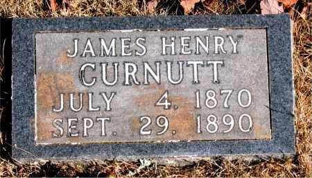 CURNUTT, JAMES HENRY - Newton County, Arkansas | JAMES HENRY CURNUTT - Arkansas Gravestone Photos