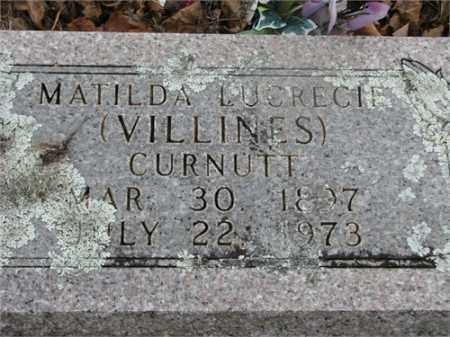 CURNUTT, MATILDA LUCRECIE - Newton County, Arkansas | MATILDA LUCRECIE CURNUTT - Arkansas Gravestone Photos