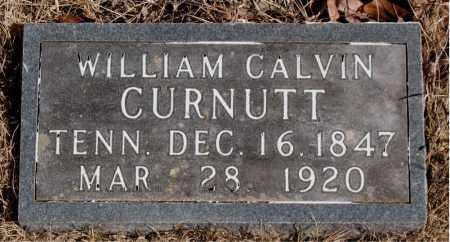 CURNUTT, WILLIAM CALVIN - Newton County, Arkansas | WILLIAM CALVIN CURNUTT - Arkansas Gravestone Photos