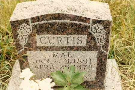 CURTIS, MAE - Newton County, Arkansas | MAE CURTIS - Arkansas Gravestone Photos