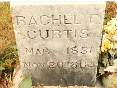 CURTIS, RACHEL E. - Newton County, Arkansas | RACHEL E. CURTIS - Arkansas Gravestone Photos