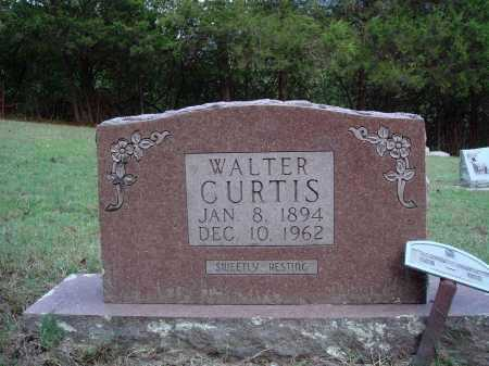 CURTIS, WALTER - Newton County, Arkansas | WALTER CURTIS - Arkansas Gravestone Photos