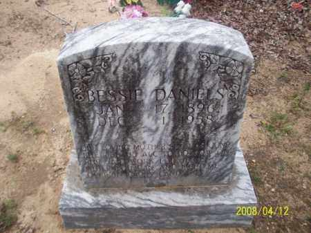 DANIELS, BESSIE - Newton County, Arkansas | BESSIE DANIELS - Arkansas Gravestone Photos
