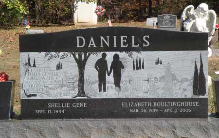 BOULTINGHOUSE DANIELS, ELIZABETH - Newton County, Arkansas | ELIZABETH BOULTINGHOUSE DANIELS - Arkansas Gravestone Photos