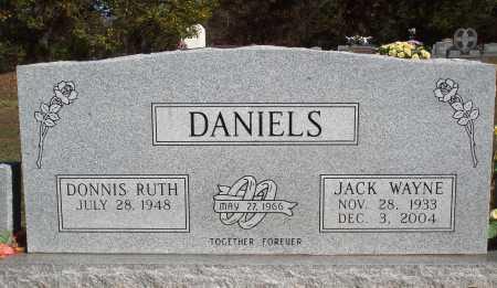 DANIELS, JACK WAYNE - Newton County, Arkansas | JACK WAYNE DANIELS - Arkansas Gravestone Photos