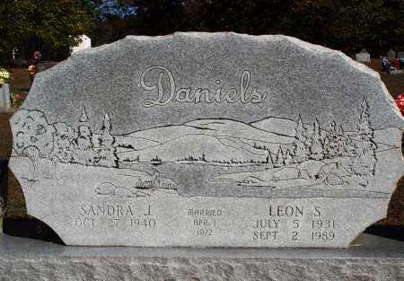 DANIELS, LEON S. - Newton County, Arkansas | LEON S. DANIELS - Arkansas Gravestone Photos