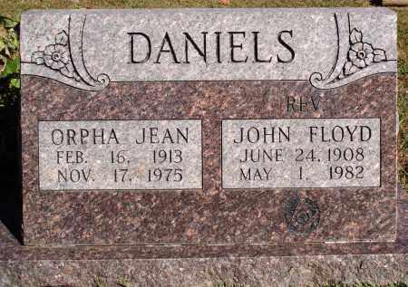 DANIELS, JOHN FLOYD - Newton County, Arkansas | JOHN FLOYD DANIELS - Arkansas Gravestone Photos