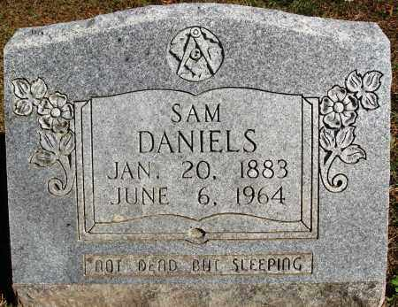 DANIELS, SAM - Newton County, Arkansas | SAM DANIELS - Arkansas Gravestone Photos