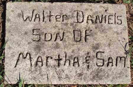 DANIELS, WALTER - Newton County, Arkansas | WALTER DANIELS - Arkansas Gravestone Photos